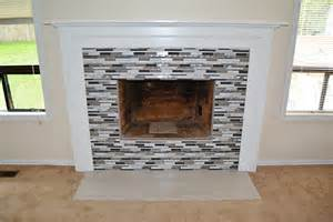 Tile Fireplace Remodel