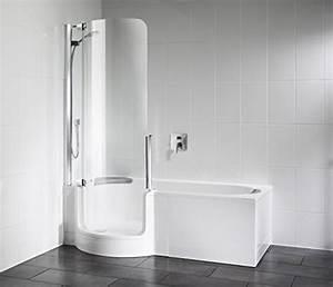 Sitzwanne Mit Dusche : badewanne mit t r ~ Michelbontemps.com Haus und Dekorationen