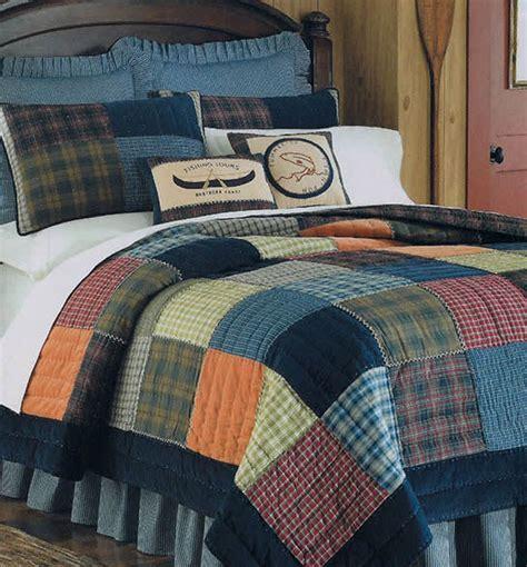 Northern Plaid Quilt & Bedding by C&F Enterprises