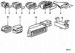 Original Parts For E30 316i M40 2 Doors    Engine Electrical System   Wiring Connections