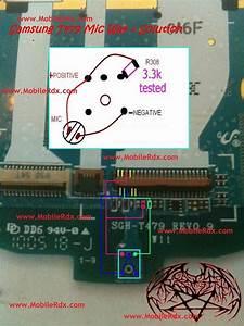 Samsung T479 Mic Problem Solution