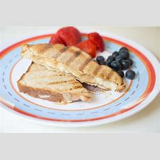 Grilled Peanut Butter & Banana Sandwich  New 31 Days Of