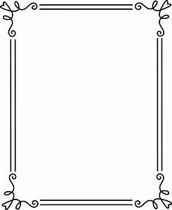 Frames And Borders Black And White Clip Art (55+)