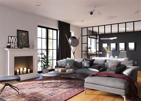 Wohnen Im Kleinen Appartement Einrichtungsidee Fuer Zweiraumwohnung by Claves Para Crear Contrastes De Color En La Decoraci 243 N