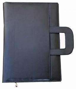 renown black leather executive document file folder in With black leather document folder
