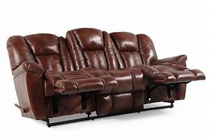 lazy boy leather recliner sofa la z boy barrett reclining With lazy boy reclining sectional sofa