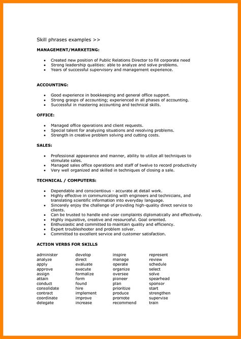 Resume Language by Language Skills In Resume Describing Language Skills