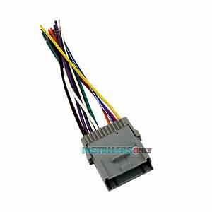 Aftermarket Car Stereo Wiring Harness For Gmc Radio