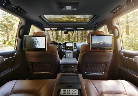 toyota land cruiser interior     suv