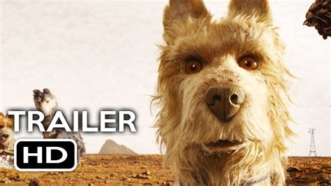 isle  dogs official trailer   wes anderson