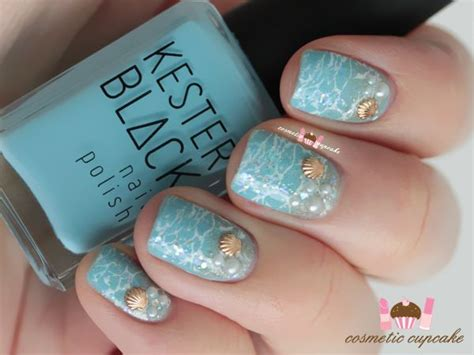 17 Best Ideas About Beach Themed Nails On Pinterest
