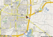 Map of Red Roof Inn Springfield, Springfield