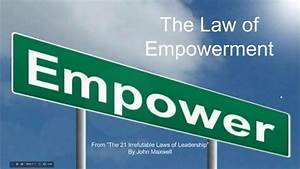 Law of Empowerment - YouTube