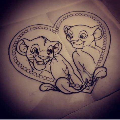 tatouage disney roi lion