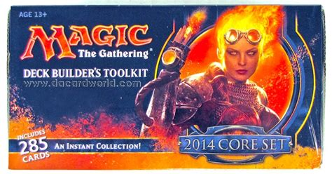 Mtg Deck Builder Toolkit 2017 by Magic The Gathering 2014 Set Deck Builders Toolkit