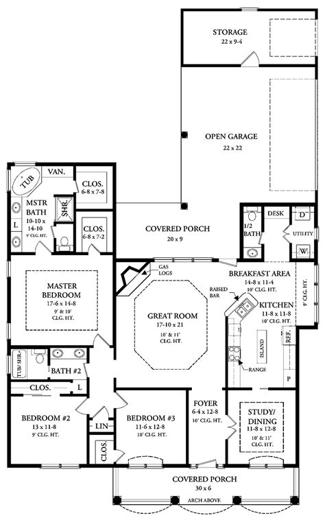 square foot cottage plans square foot open floor house plans colonial open floor