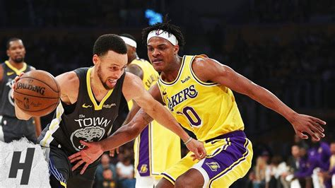 golden state warriors  los angeles lakers full