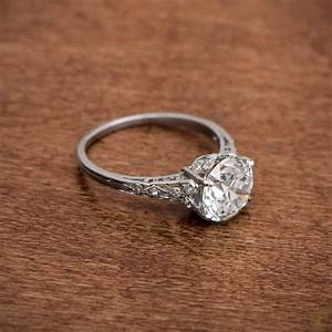 vintage engagement rings design your own vintage With wedding rings classic