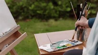 Giphy Painting Watercolor Shores Chesapeake Hallmark Tweet