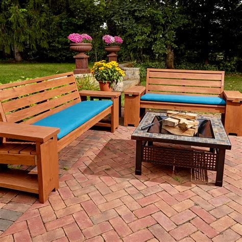 wood outdoor furniture 12 pieces of diy outdoor furniture the family Diy