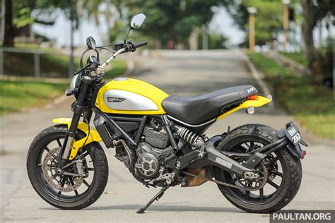 Review Ducati Scrambler Icon review 2016 ducati scrambler icon for hipsters image