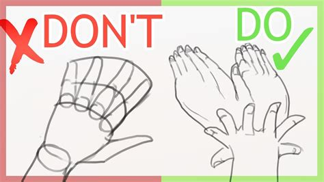 How To Draw Perfect Hands Youtube