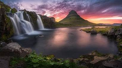 Resolution Laptop Wallpapers Ultra 4k Waterfalls Iceland