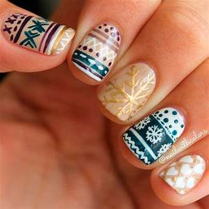 Cute Winter Nail Art Ideas from Instagram | Hairstyles ...