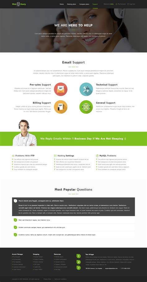 webhosty template webhosty hosting psd template by templatation themeforest