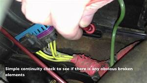 Glow Plug Resistance Check 7 3 Powerstroke