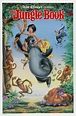 THE JUNGLE BOOK MOVIE POSTER 2 Sided R1990 ORIGINAL 27x41 ...