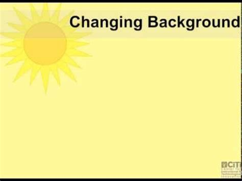 changing page background color  smartboard notebook