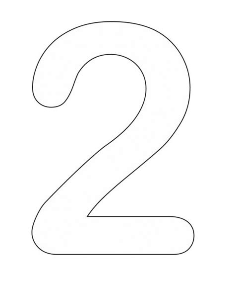 numbers coloring pages part