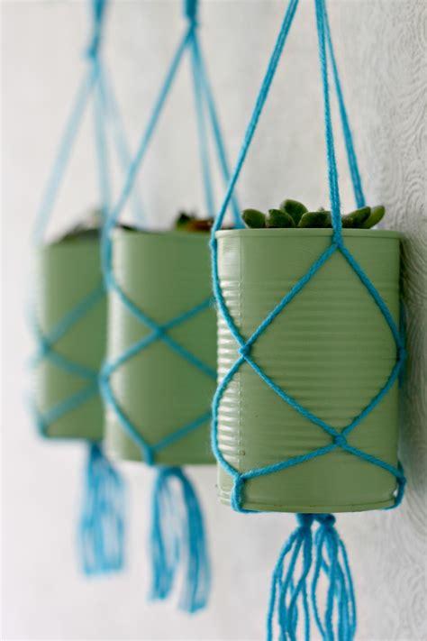 tin  hanging planters  bakes  decor