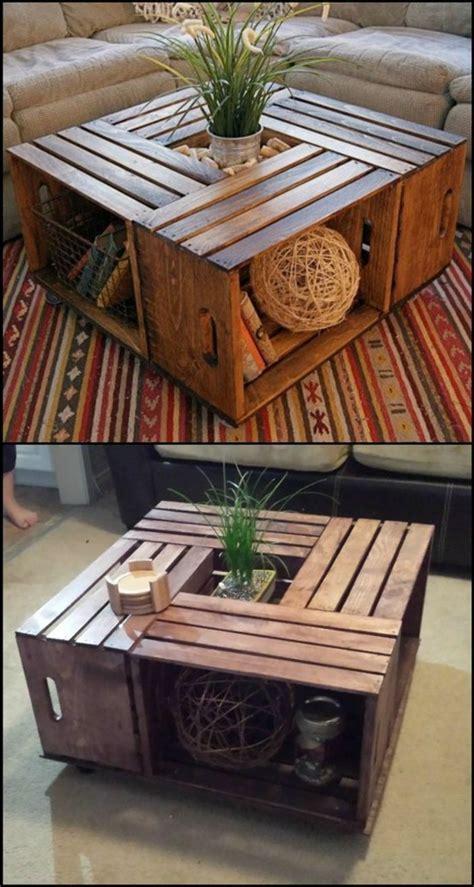 Tisch Aus Weinkisten Bauen by Diy M 246 Bel Ideen Und Vorschl 228 Ge Die Sie Inspirieren K 246 Nnen
