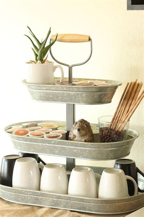 """How To Make Your Own Creative Coffee Bar  """"buffet Of"""