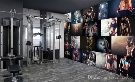 creative personality  wallpaper gym yoga cafe american