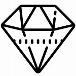 Icon Diamond Wired Windows Icons8