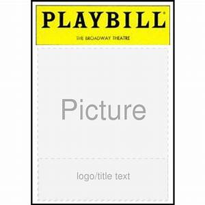 playbill template powerpoint blank playbill template With playbill template free