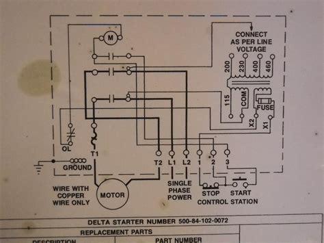 magnetic motor starter wiring diagram magnetic free