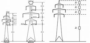 Typical Towers Of The 150 Kv And 400 Kv Double
