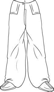 draw baggy pants step    draw pants pants