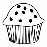 Muffin Coloring Pages Print sketch template