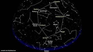 11 Dezember Sternzeichen : sterne sternbilder im dezember gro er j ger mit hund hellem stern sternenhimmel wissen ~ Markanthonyermac.com Haus und Dekorationen