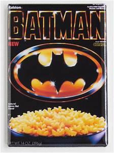 Batman Cereal Refrigerator Fridge Magnet 1989 Batman Movie