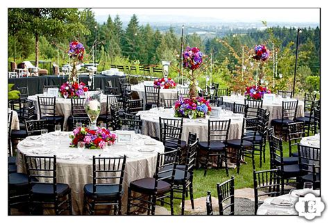 wedding reception at garden vineyards