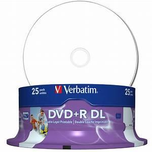 Double Layer Dvd : verbatim dvd double layer dvd r dl 8 5 gb 240 min 8x ~ Kayakingforconservation.com Haus und Dekorationen