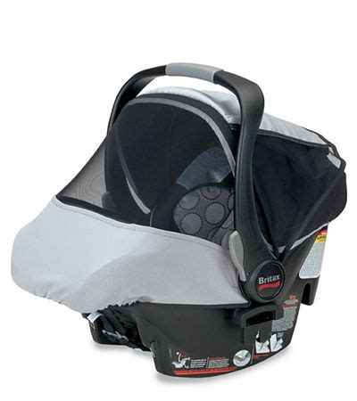 britax infant car seat sun bug cover