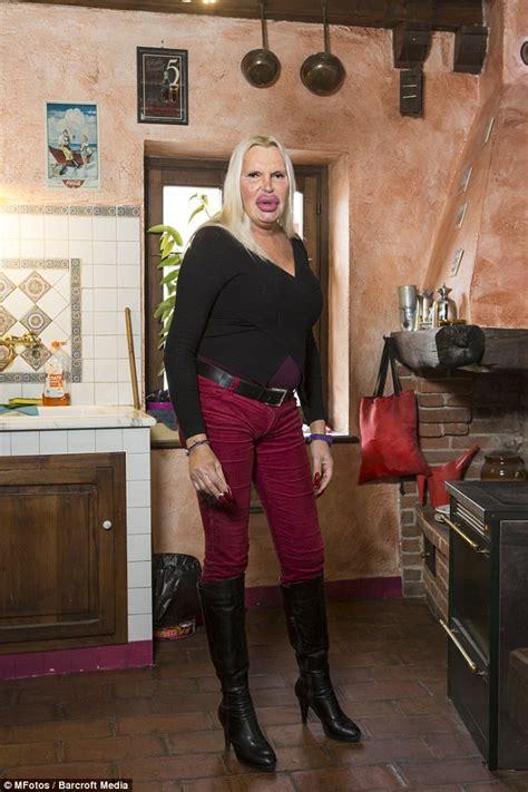 fulvia pellegrino spends    boob jobs  rounds