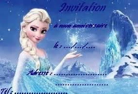 Joyeux Anniversaire Reine Des Neiges : carte anniversaire elsa reine des neiges anna ~ Melissatoandfro.com Idées de Décoration